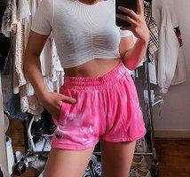 Adidas pinke / rosane tie dye Shorts / Sporthose / Sportshorts