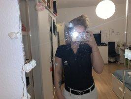 Adidas Polo shirt zwart-wit