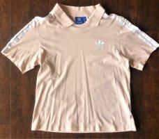 Adidas Poloshirt Rosa, Weiß Größe S