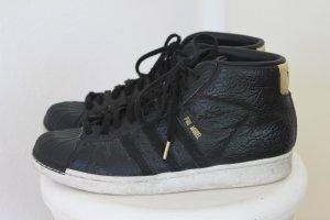ADIDAS PRO MODEL Allstar Schuhe Sneaker Slides SCHWARZ 45,5