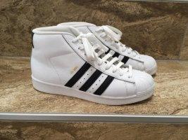 Adidas Originals Basket montante blanc cuir