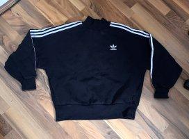 Adidas Pullover Sweater baggy Oversize schwarz weiß