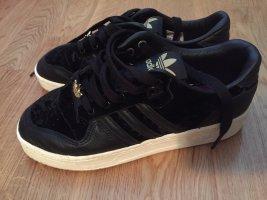 ADIDAS RIVALRY LOW sneaker samt schwarz 39 1/3