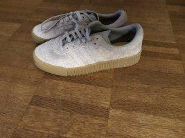 Adidas Sneakresy na obcasie szary