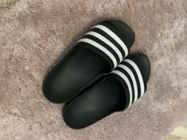 Adidas Ciabatta aperta nero