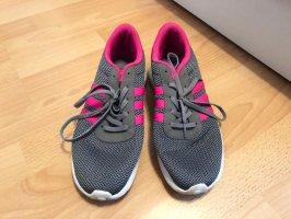 Adidas Sneakers met veters grijs-roze