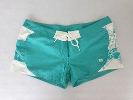 adidas Short Shorts 36 S weiß türkis