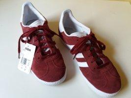 Adidas Sneaker Gazelle bordeauxrot Gr. 38,5