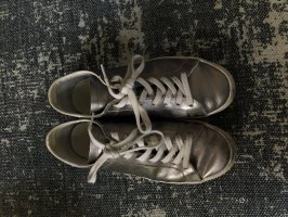 Adidas Zapatilla brogue blanco-color plata