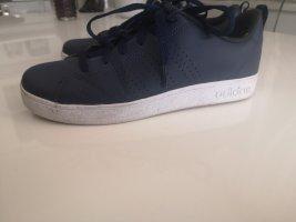 Adidas Originals Sznurowane trampki biały-ciemnoniebieski
