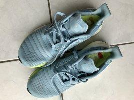 Adidas Zapatilla brogue azul bebé-amarillo pálido