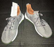 Adidas Originals Sznurowane trampki szary-khaki