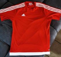 Adidas Koszulka sportowa biały-czerwony