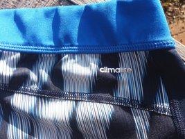 Adidas Pantalon de sport blanc-bleu acier