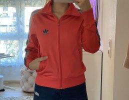 Adidas Chaqueta deportiva magenta-azul claro