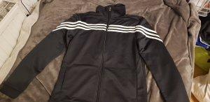 Adidas Originals Kurtka sportowa czarny-w kolorze białej wełny