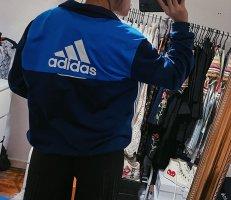 Adidas Sportjacke Trainingsjacke Logo vintage retro 90s blau