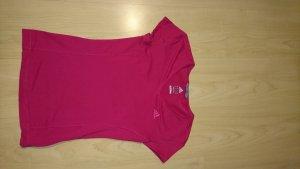 Adidas Koszulka sportowa czerwony neonowy