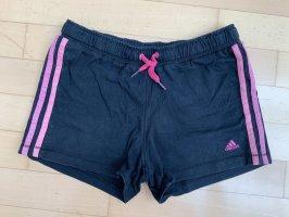 Adidas pantalonera negro-magenta