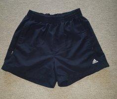 Adidas Szorty sportowe biały-ciemnoniebieski