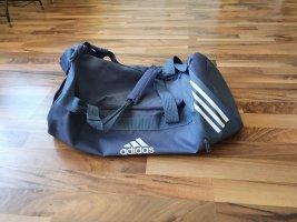 Adidas Borsa sport blu fiordaliso Poliestere