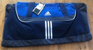 Adidas Sporttas blauw-wit
