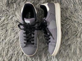 adidas stan smith Sneakers met veters wit-zwart