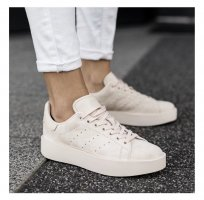 Adidas Stan Smith Bold | beige | Gr. 39 1/3
