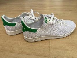 adidas stan smith Basket à lacet blanc-vert