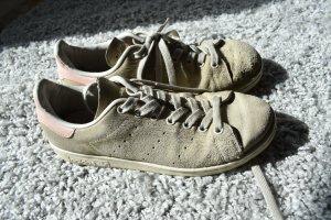 Adidas Stan Smith Rauhleder beige-rosa