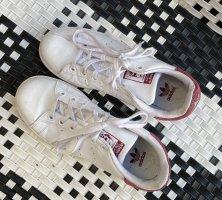 Adidas Stan Smith rot-weiß in Gr. 37 1/3