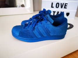 Adidas Originals Sneakers met veters blauw Leer