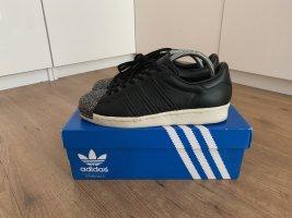 Adidas Originals Sneakers met veters zwart-wit Leer
