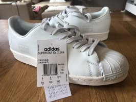 Adidas Lace-Up Sneaker natural white-white