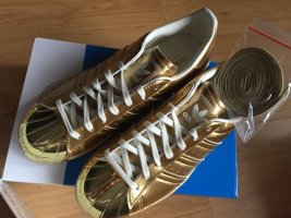 *** Adidas Superstar 80S Metallic Pac GOLD Sneakers *** GR. 39 1/3