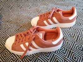 Adidas Originals Sneaker stringata rosa Tessuto misto