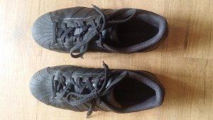 adidas stan smith Sneakers met veters zwart Leer