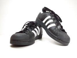 Adidas Superstar mit OrthoLite - schwarz