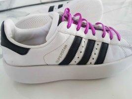 Adidas superstar Zapatilla brogue blanco-negro
