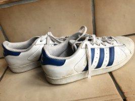 Adidas Superstar weiß blau