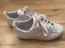 Adidas Originals Sznurowane trampki biały-jasny różowy Skóra