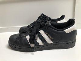 Adidas Zapatos de patinador negro-blanco