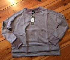 ADIDAS Sweatshirt/Pullover, Gr. XS, Farbe: Purple Mel, locker sitzend, wie NEU