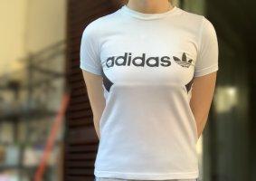 Adidas Shirt met print wit-zwart