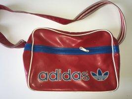Adidas Sporttas blauw-donkerrood