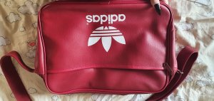 Adidas Originals Crossbody bag white-red polyurethane