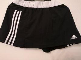 Adidas Jupes-culottes blanc-noir lyocell