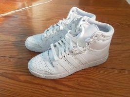 Adidas Zapatillas altas blanco Cuero
