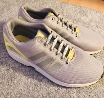 Adidas Zapatilla brogue gris claro-amarillo neón