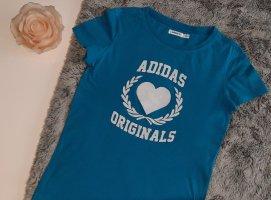 Adidas tshirt S 36 hellblau